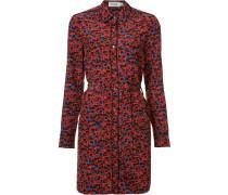 Hemdkleid mit floralem Print - women - Seide - 4