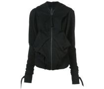 oversized deconstructed jacket