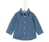 Hemd mit Ankermuster - kids - Baumwolle - 24 M.