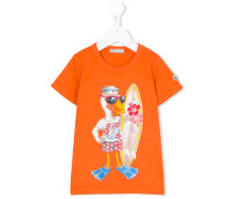 T-Shirt mit Enten-Print
