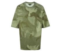 - Oversized-T-Shirt mit Print - men - Baumwolle