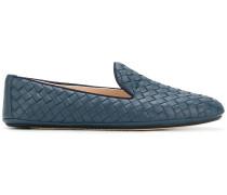 Intrecciato loafers