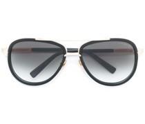 Sonnenbrille mit goldfarbenen Beschläge