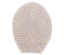 Grobgestrickte Mütze