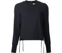 Sweatshirt mit Schnürdetails