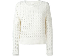 open knit jumper - women