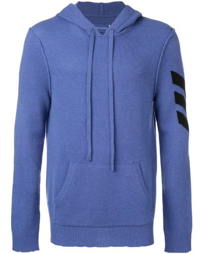 Intarsien-Pullover mit Pfeil
