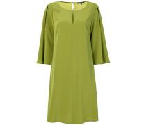 cape shift dress