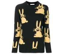 rabbit knit intarsia jumper