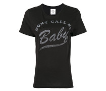 "T-Shirt mit ""Don't Call Me Baby""-Print"