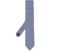 Krawatte mit Regenschirm-Print