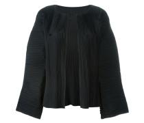 Plissierte 'Blossom' Cropped-Jacke mit weiten