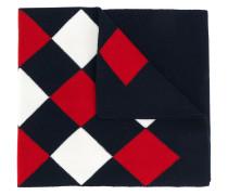 Schal mit Argyle-Muster