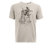 'Violins' T-Shirt mit Print