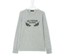 Sweatshirt mit '24-7 Star'-Print