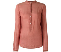 - Henley-Hemd mit Raffungen - women