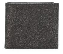 glitter billfold wallet