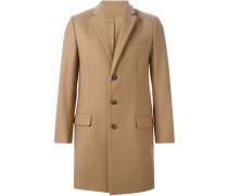 Mantel mit einer Knopfleiste