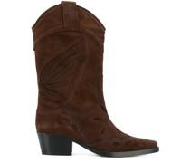 Cowboy-Stiefel mit Ziernähten