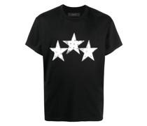 T-Shirt mit Bandana-Sternen