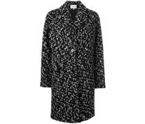 Einreihiger Tweed-Mantel - women