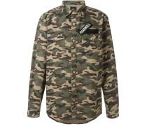 "Camouflage-Hemd mit ""Pharrell""-Patch"