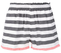 - striped shorts - women - Baumwolle/Acryl - M