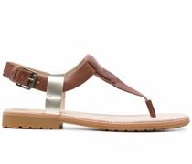 Sandalen mit niedrigem Absatz
