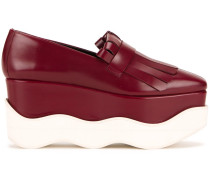 Loafer mit gewellter Plateausohle