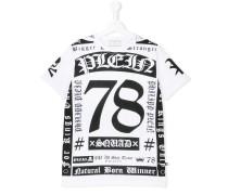 T-Shirt mit Print - kids - Baumwolle - 16 yrs