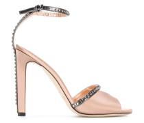'Kara' Sandalen mit Kristallverzierungen