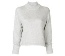 glitter knitted jumper