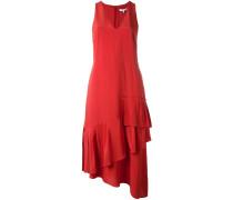 Seidenkleid mit Volants - women - Seide - 2