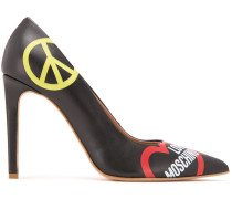 'Peace and Love' Pumps