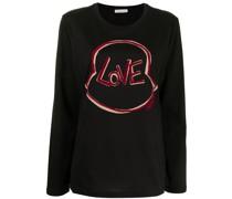 Langarmshirt mit Love-Print