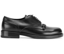 Derby-Schuhe mit Schnalle