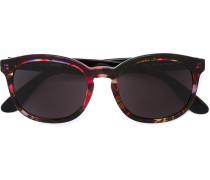 Sonnenbrille mit gemustertem Rahmen