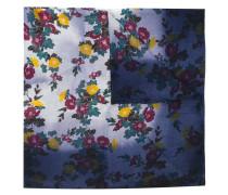 Wollschal mit Blumen-Print