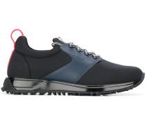 Neopren-Sneakers mit Ledereinsätzen