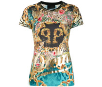 T-Shirt mit Mustermix - women - Polyester - S