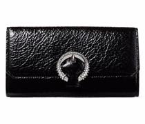 Portemonnaie mit Kristallschnalle