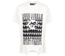 T-Shirt mit umgedrehtem Felix-Print