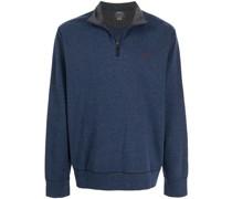 Jersey-Sweatshirt mit Reißverschluss