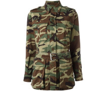 'Love' Jacke mit Camouflage-Muster