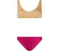 Bikini mit Glitter-Effekt