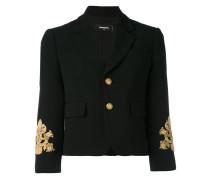 embroidered sleeve jacket - women