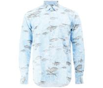 Hemd mit Fisch-Print - men - Baumwolle - L