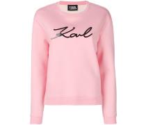 Plexi Karl logo sweatshirt