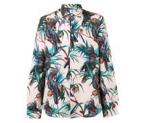 - Hemd mit tropischem Print - men