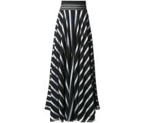striped handkerchief skirt
